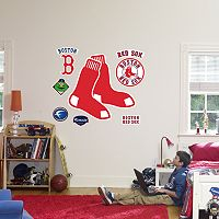 Fathead® Boston Red Sox Logo Wall Decal
