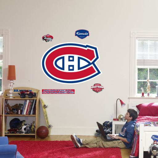 Fathead Montreal Canadiens Logo Wall Decal