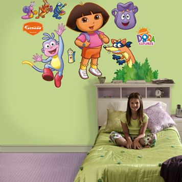 Fathead® Dora the Explorer™ Wall Decals
