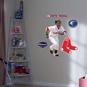 Fathead Junior Boston Red Sox Dustin Pedroia Wall Decal