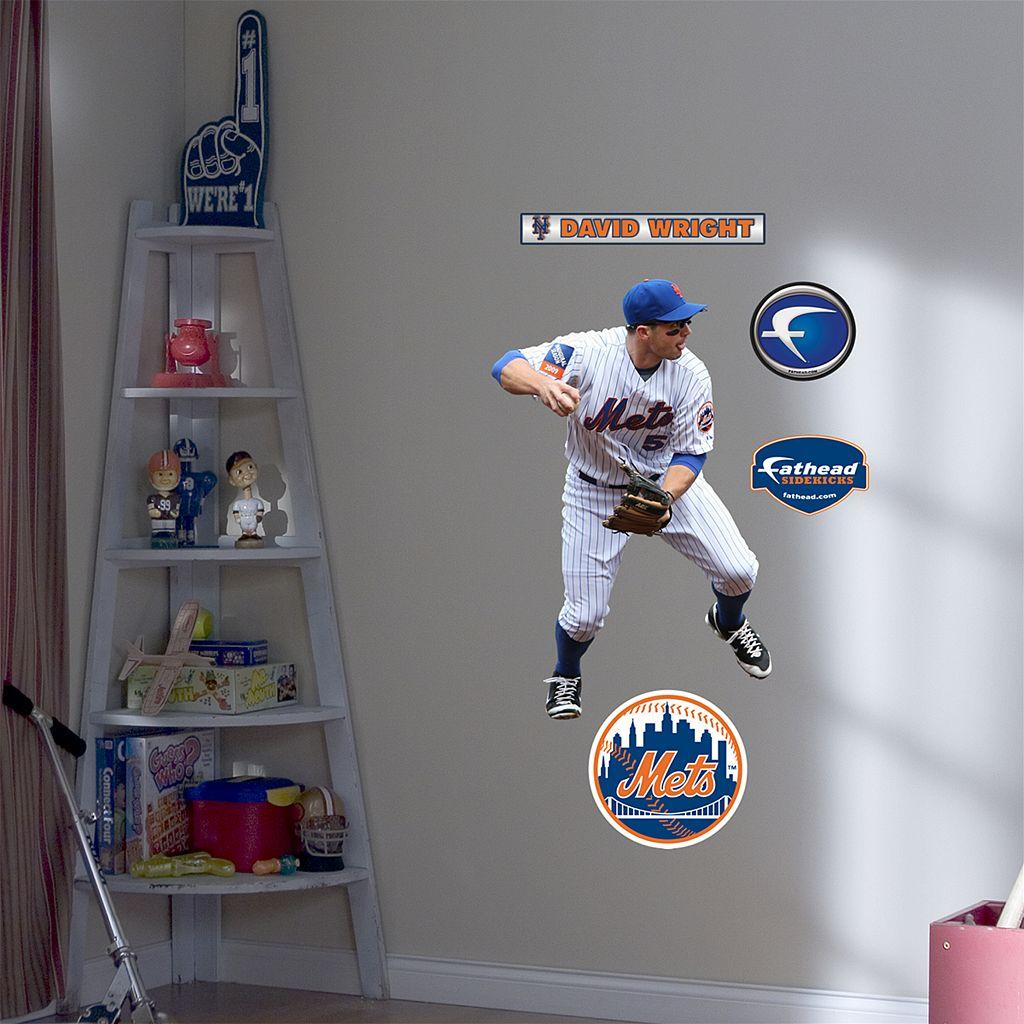 Fathead® Junior New York Mets David Wright Wall Decal