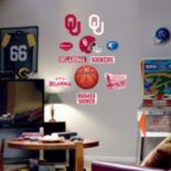 Fathead® Junior Oklahoma Sooners Logo Wall Decals