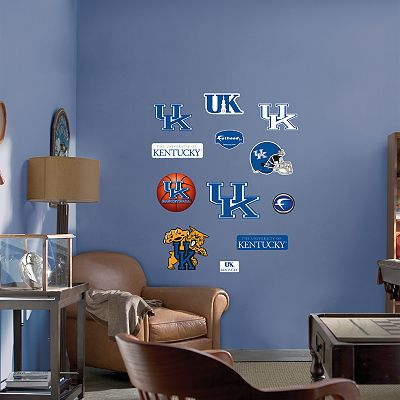 Fathead Junior Kentucky Wildcats Logo Wall Decals