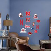 Fathead Junior Nebraska Cornhuskers Logo Wall Decals
