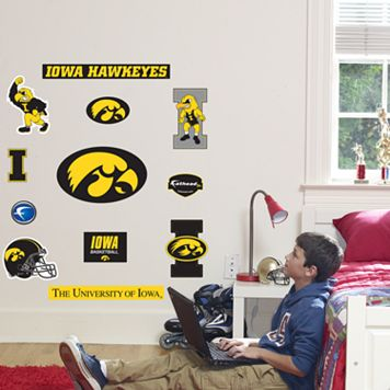 Fathead® Junior Iowa Hawkeyes Logo Wall Decals