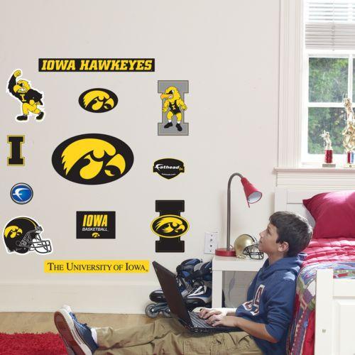 Fathead Junior Iowa Hawkeyes Logo Wall Decals