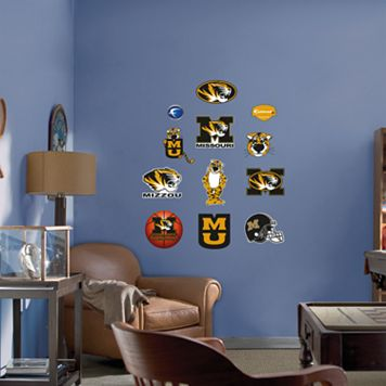 Fathead® Junior Missouri Tigers Logo Wall Decals