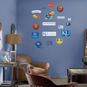 Fathead Junior Kansas Jayhawks Logo Wall Decals