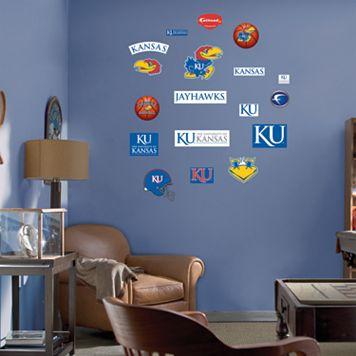 Fathead® Junior Kansas Jayhawks Logo Wall Decals