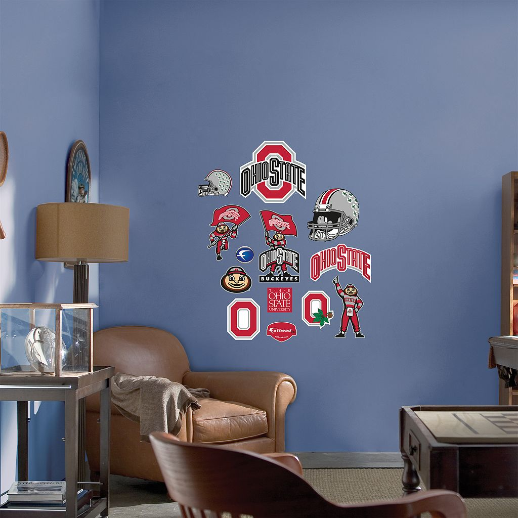 Fathead® Junior Ohio State Buckeyes Logo Wall Decals