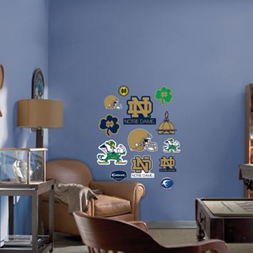 Fathead® Junior Notre Dame Fighting Irish Wall Decals