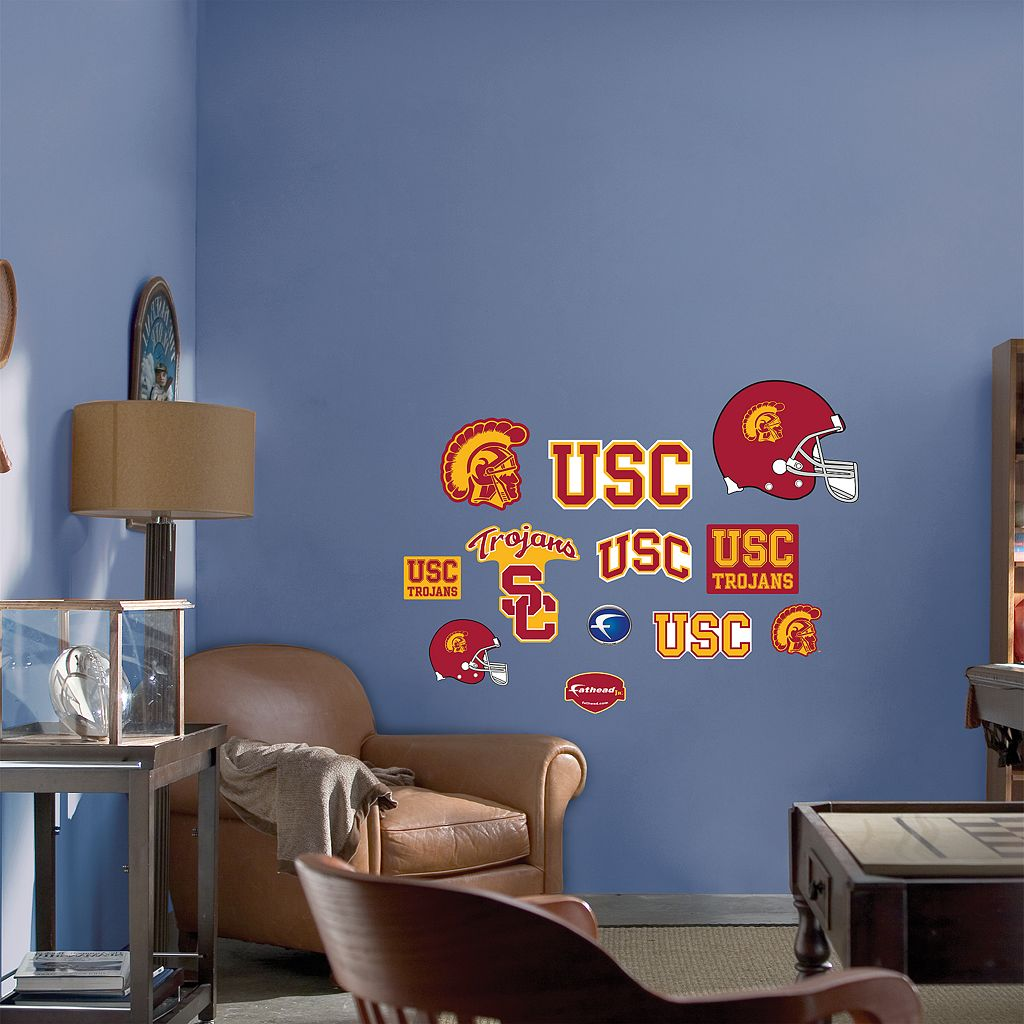 Fathead® Junior USC Trojans Logo Wall Decals