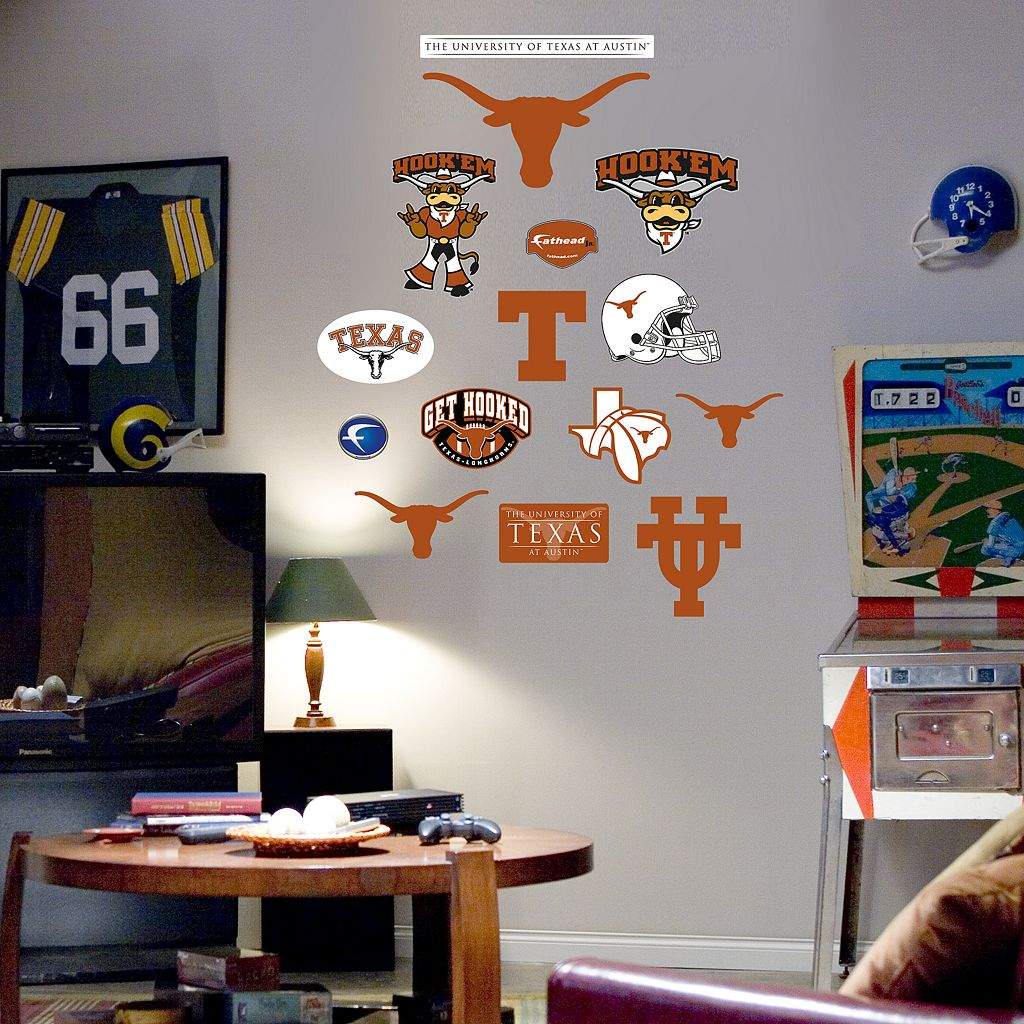 Fathead® Junior Texas Longhorns Logo Wall Decals