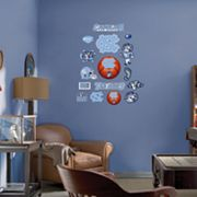 Fathead Junior North Carolina Tar Heels Logo Wall Decals