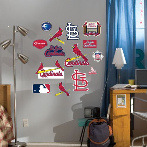 Fathead Junior St. Louis Cardinals Logo Wall Decals