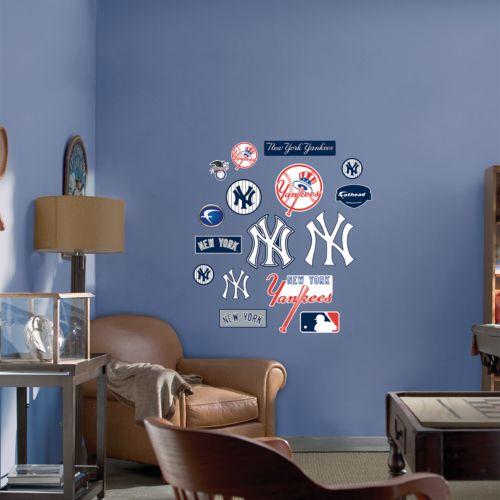 Fathead Junior New York Yankees Logo Wall Decals