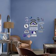 Fathead Junior Colorado Rockies Logo Wall Decals