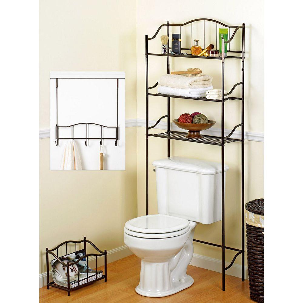 Creative Ware Home 3 pc  Bath Storage Set. Bathroom Shelves   Bathroom  Bed  amp  Bath   Kohl  39 s