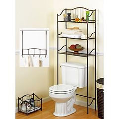 Creative Ware Home 3 pc Bath Storage Set