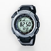 Casio Pathfinder Tough Solar Atomic Chronograph Digital Watch - Men