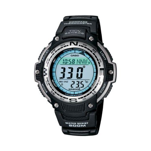 Casio Twin Sensor Chronograph Digital Watch - Men