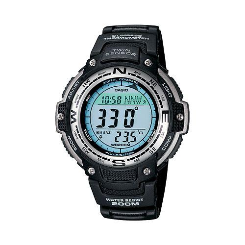 Casio Men's Twin Sensor Digital Chronograph Watch - SGW100-1V