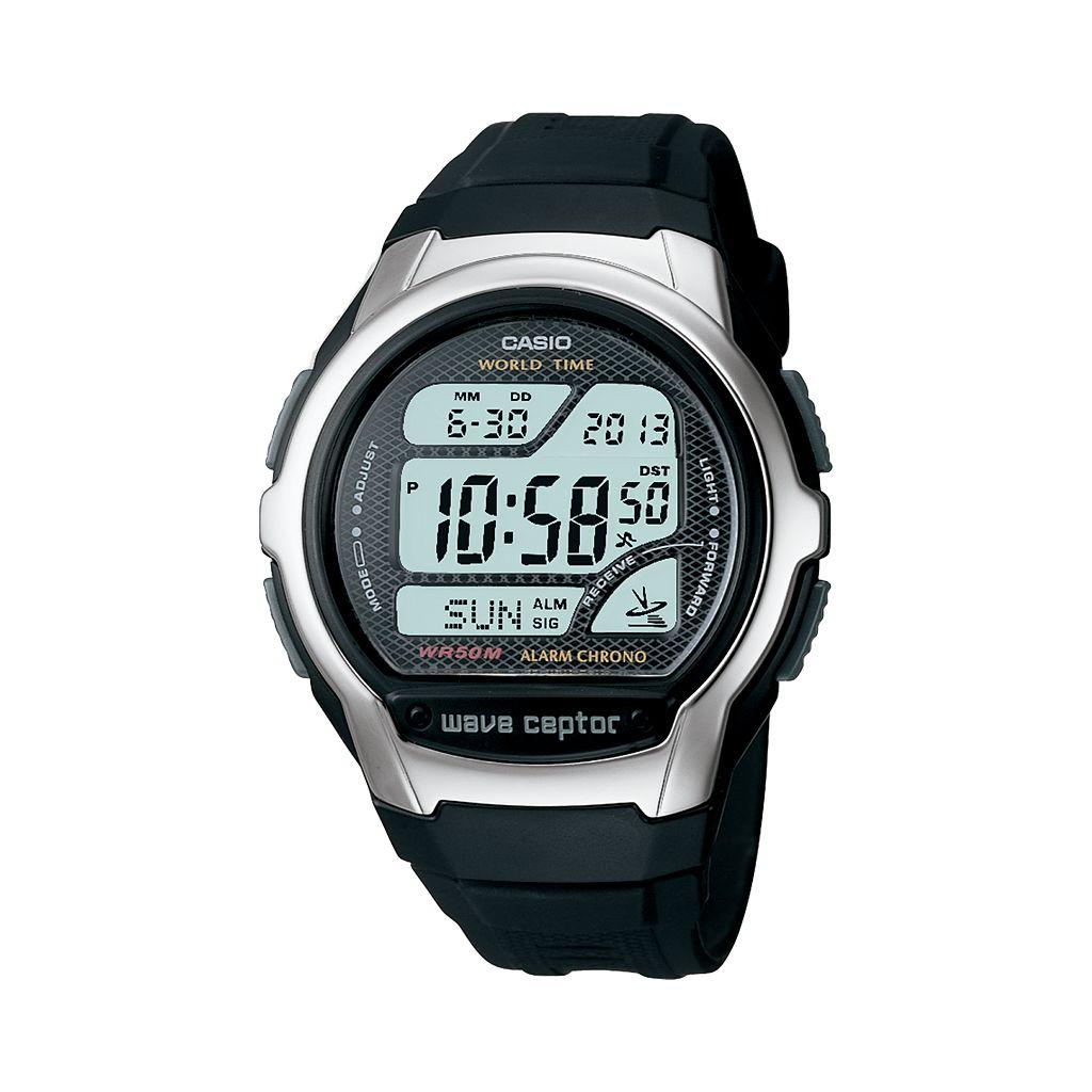 Casio Men's Wave Ceptor Atomic Digital Chronograph Watch - WV58A-1AV