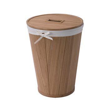 Creative Ware Home Eco Style Round Hamper