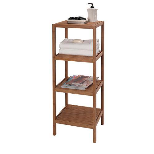 Creative Ware Home Eco Style 4-Shelf Tower