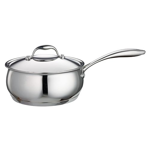 Tramontina Domus 3-qt. Tri-Ply Stainless Steel Saucepan