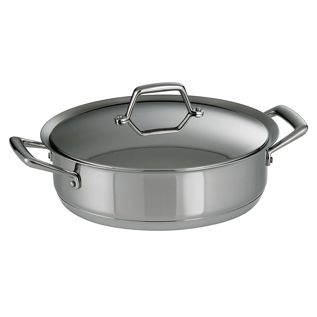 Tramontina Prima 5-qt. Stainless Steel Tri-Ply Covered Casserole Dish