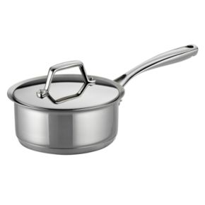 Tramontina Prima 1.5-qt. Stainless Steel Tri-Ply Covered Saucepan