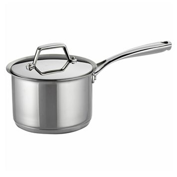 Tramontina Prima 2-qt. Stainless Steel Tri-Ply Covered Saucepan