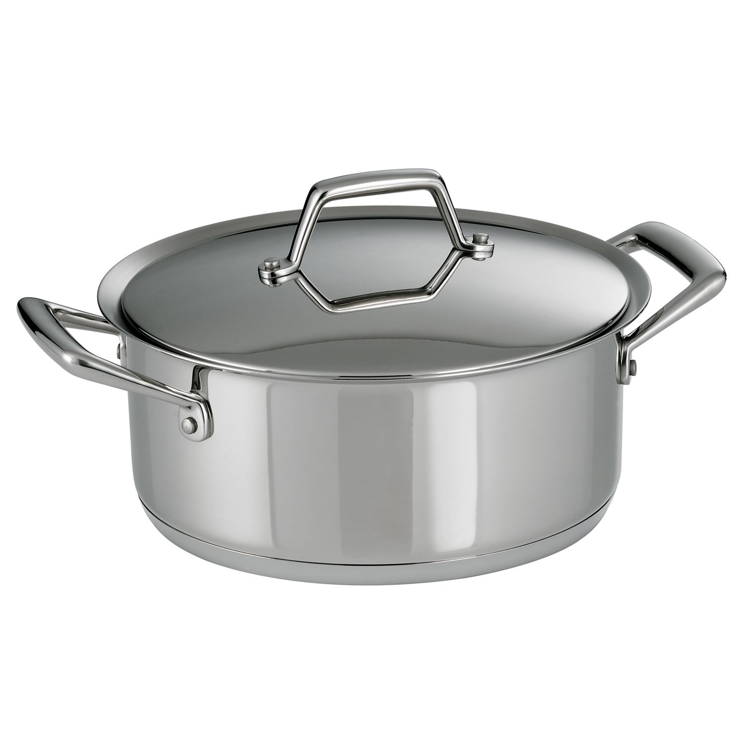 Prima 5-qt. Stainless Steel Tri-Ply Covered Dutch Oven