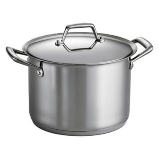 Tramontina Prima 8-qt. Stainless Steel Tri-Ply Covered Stockpot