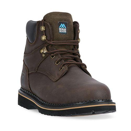 McRae Industrial Men's Slip-Resistant Work Boots