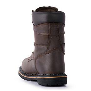 McRae Industrial Men's Slip-Resistant Steel-Toe Work Boots