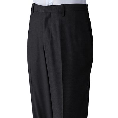 Axist Flat-Front Pebble No-Iron Dress Pants - Big and Tall
