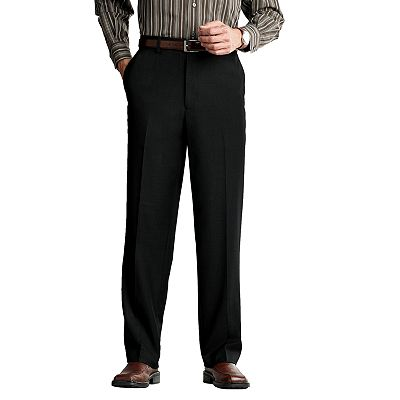 Axist Flat-Front Crosshatch Non-Iron Dress Pants - Big and Tall