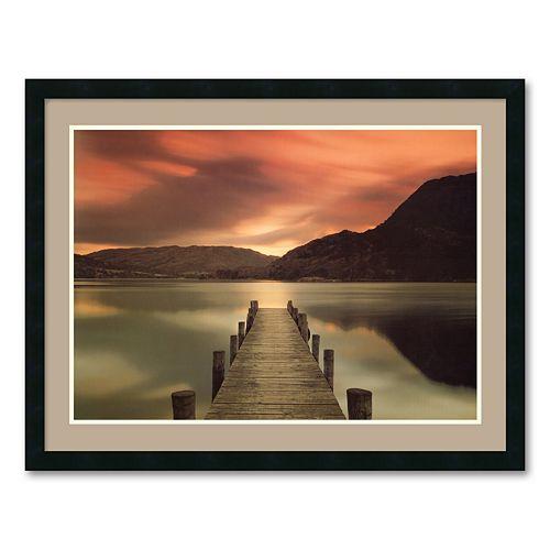 """Ullswater, Glenridding, Cumbria"" Framed Wall Art"