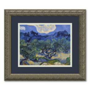 Olive Trees Framed Wall Art
