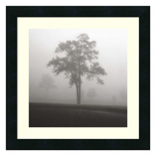 Fog Tree Study I Framed Wall Art