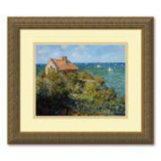 """""""Fisherman's Cottage on the Cliffs at Varengeville"""" Framed Wall Art"""