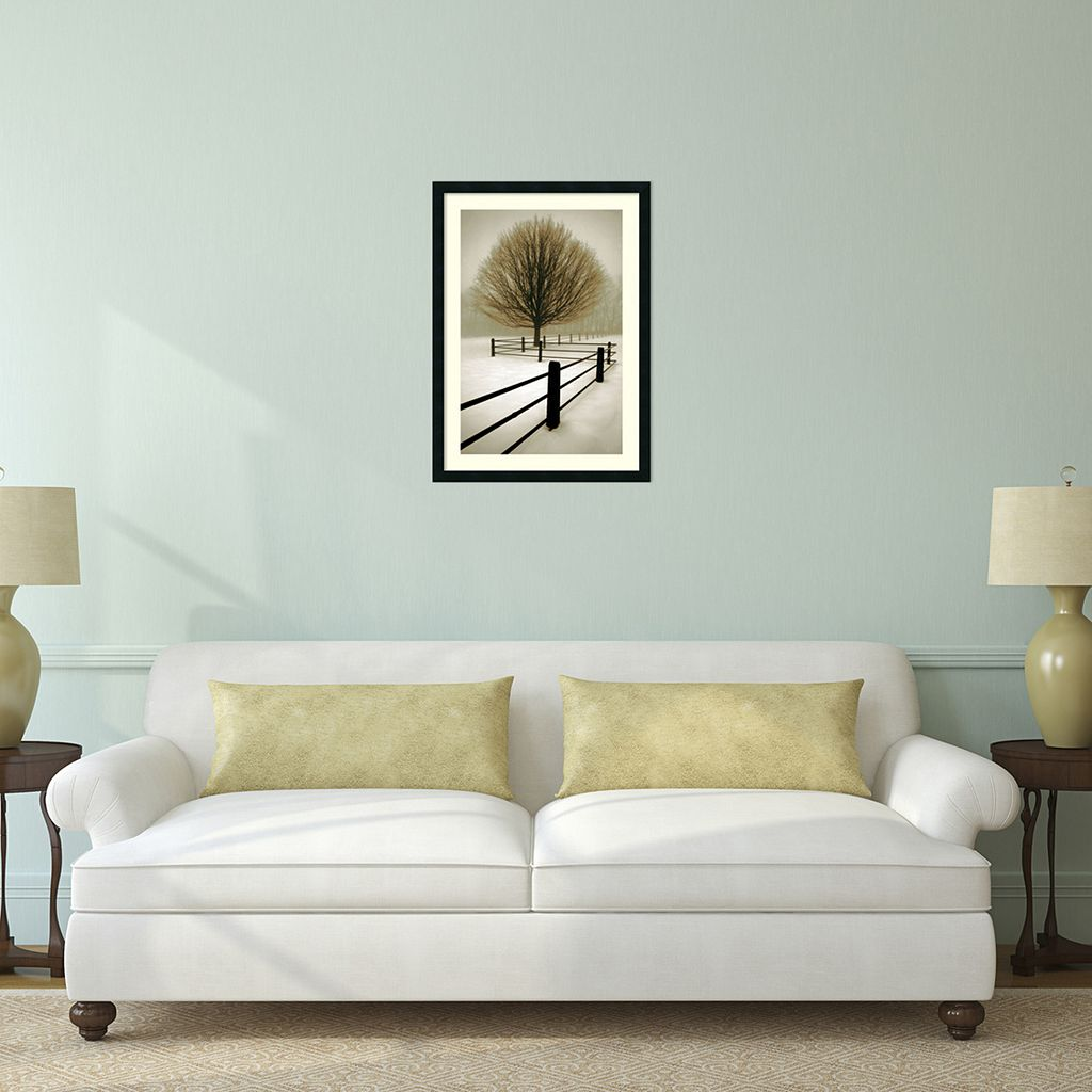 Solitude Framed Wall Art