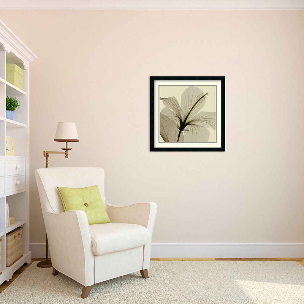 Hibiscus Framed Wall Art