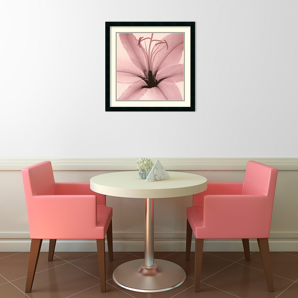 Lily Framed Wall Art