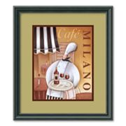 Cafe Milano Framed Wall Art
