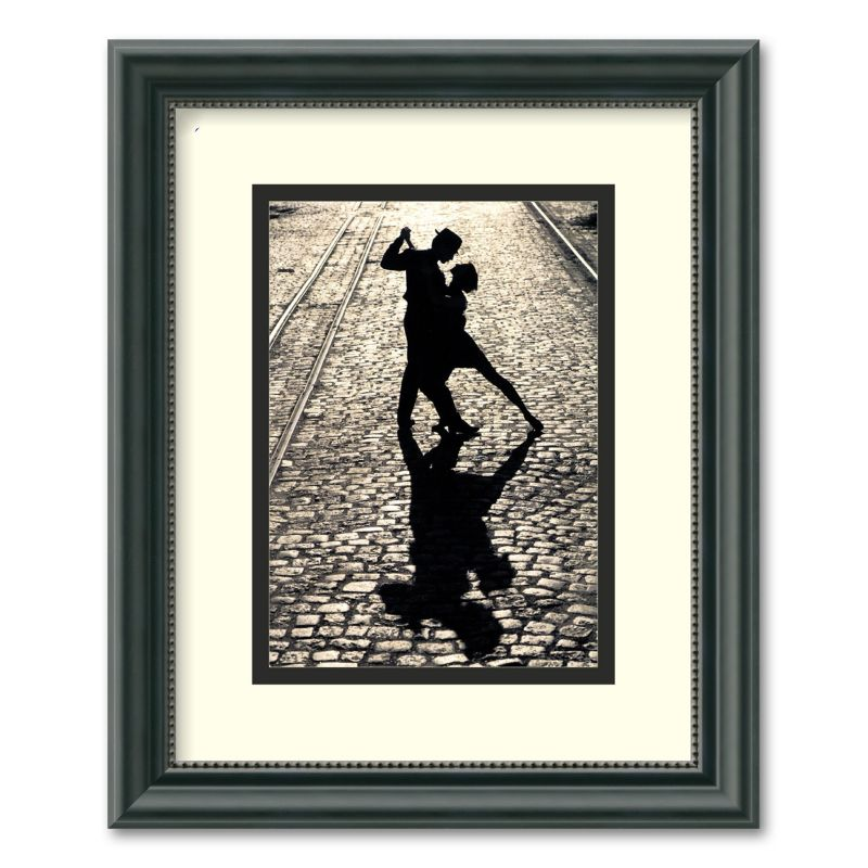 The Last Dance Framed Wall Art, Black