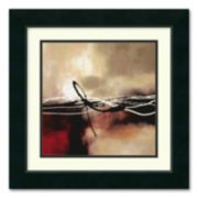 """Symphony in Red & Khaki II"" Framed Wall Art"