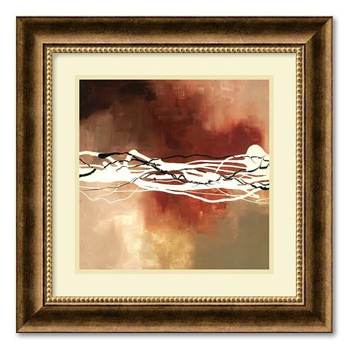 """Copper Melody I"" Framed Wall Art"